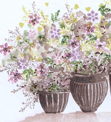 Amanda's-pottery-garden-in-pink